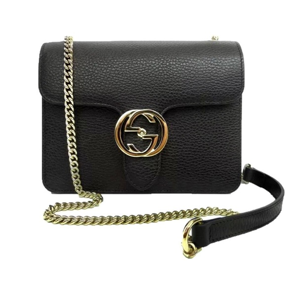 9e3ef0640a76 Gucci Bags | Authentic Gg Interlocking Crossbody Bag | Poshmark